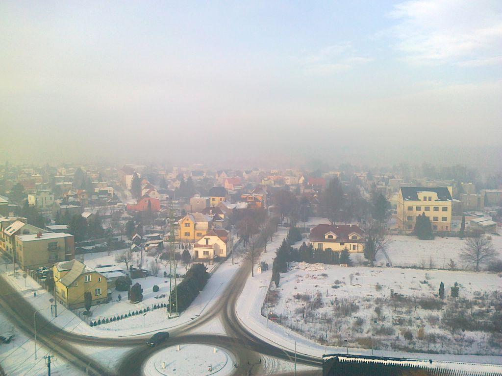 Smog nad Bohumínem