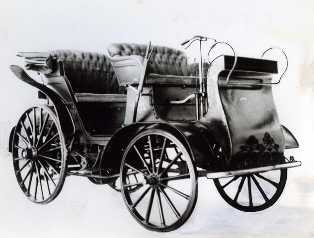 Foto původní vozu Präsident