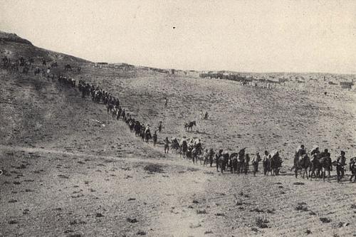 Deportace Arménů do pouště