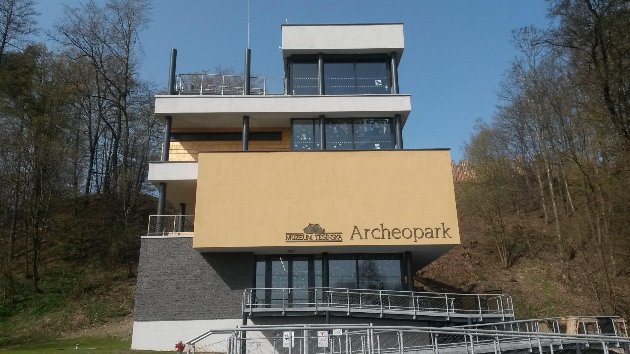 Nová vstupní budova do Archeoparku