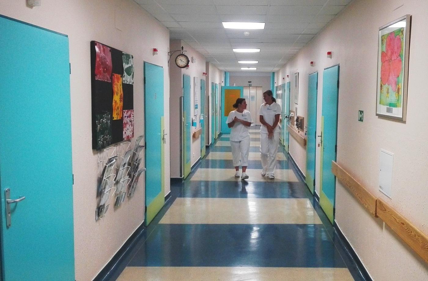 Nemocniční chodba (ilustrační foto)