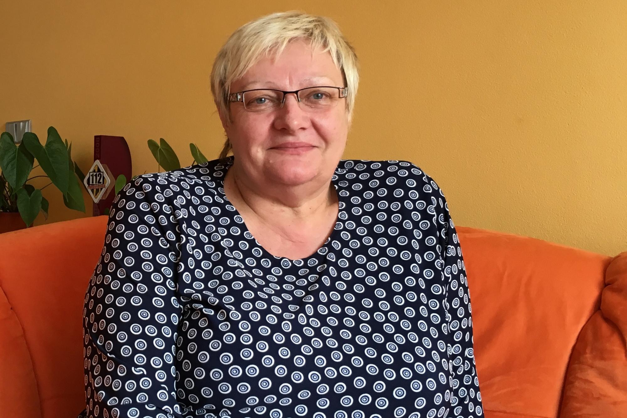 Energická blondýna Naďa Tomčíková byla při nehodě ve Studénce ve druhém vagonu vlaku