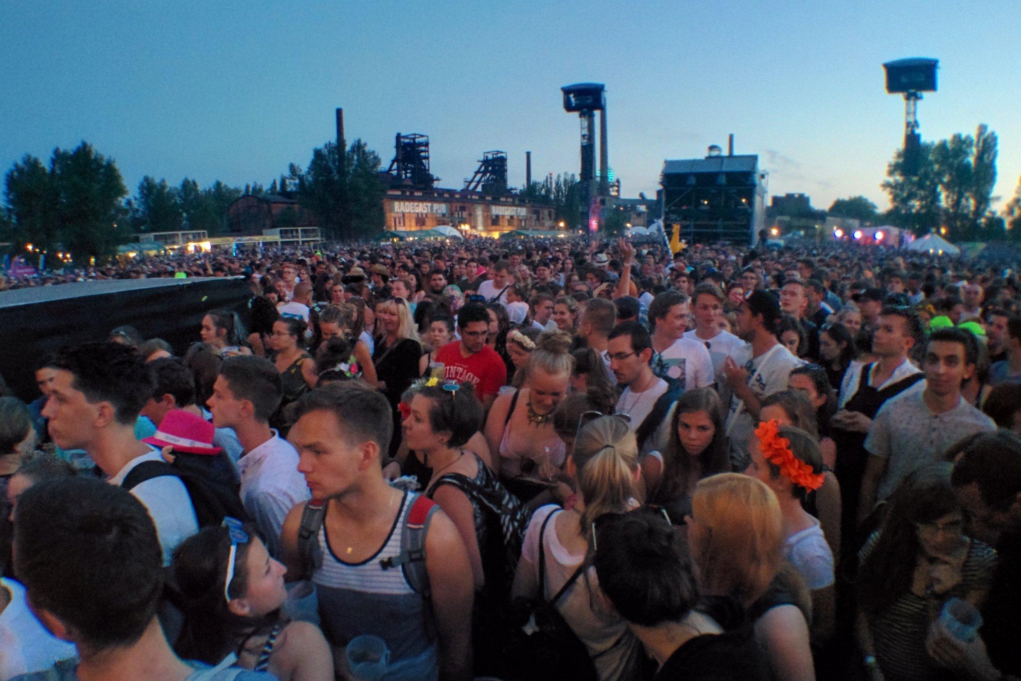 Publikum festivalu Colours of Ostrava 2017