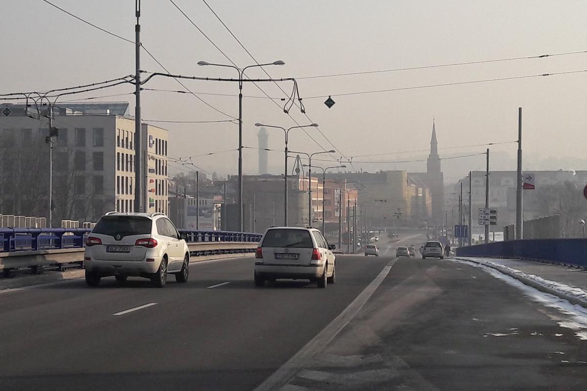 Zhoršené rozptylové podmínky v Ostravě
