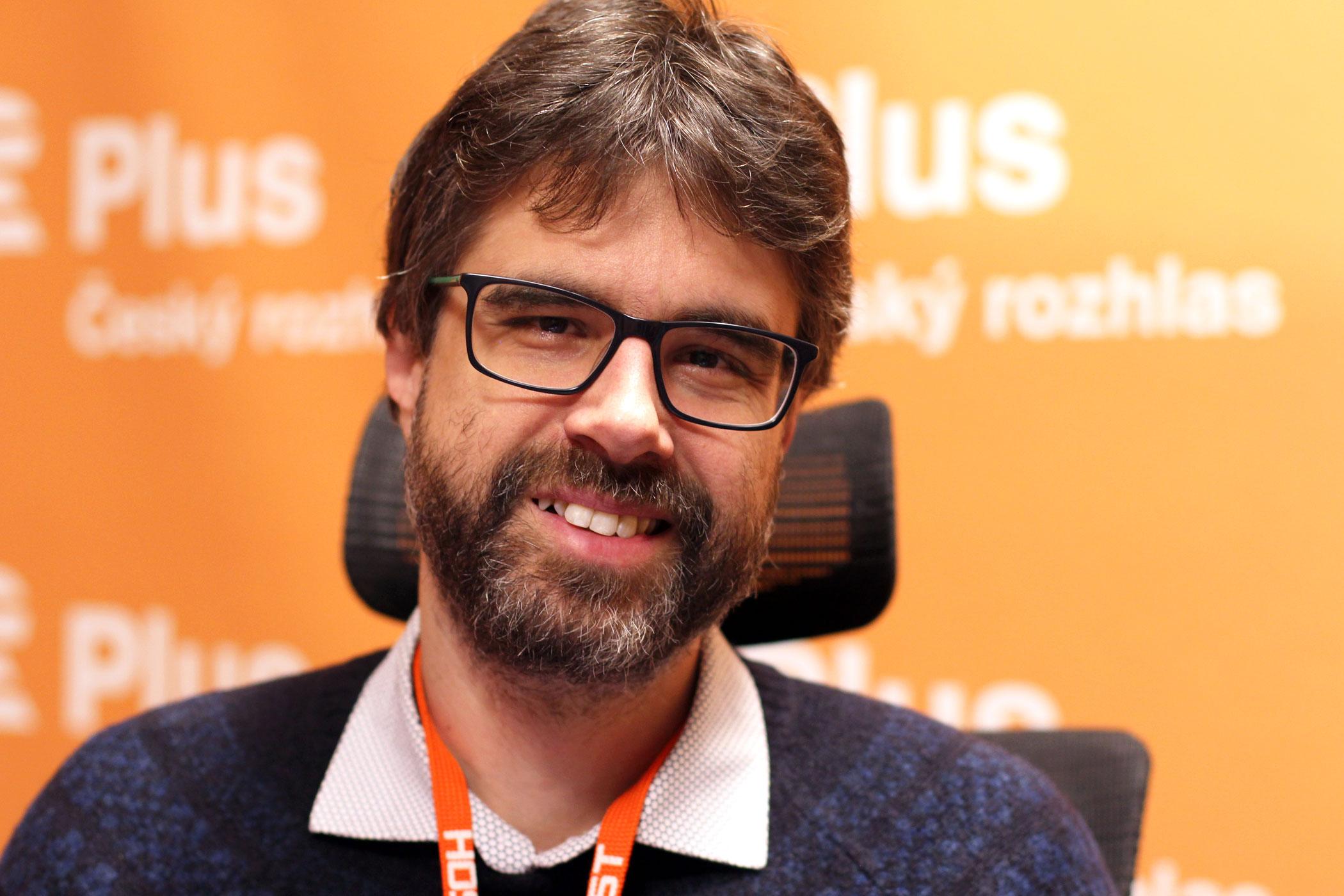 Petr Třešňák, novinář a zástupce šéfredaktora časopisu Respekt