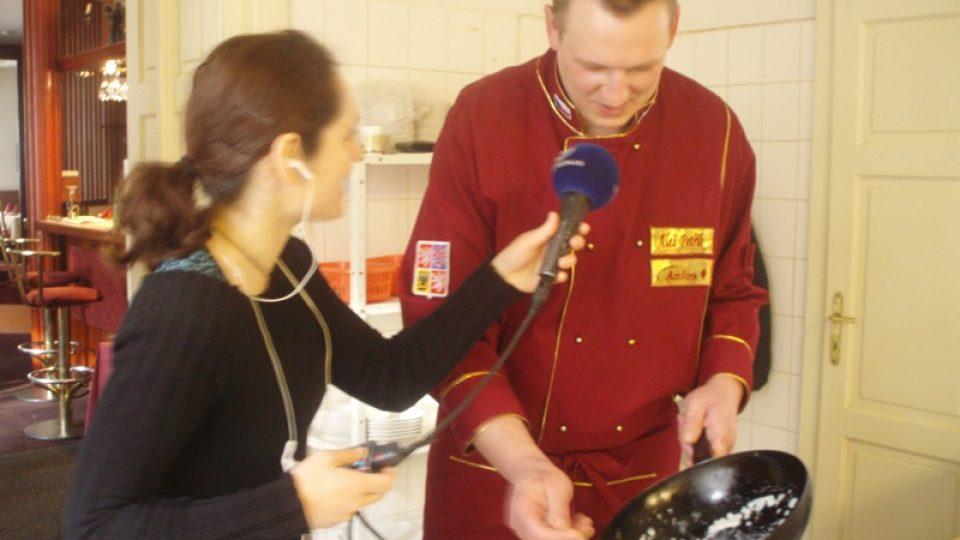 Šéfkuchař Aleš Petřík