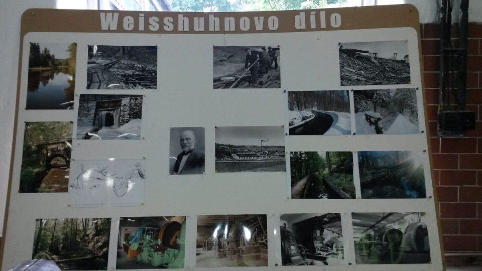 Historické fotografie náhonu