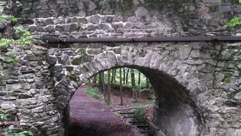 Jeden z aquaduktů