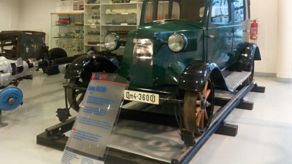 Kolejová úprava vozu Tatra