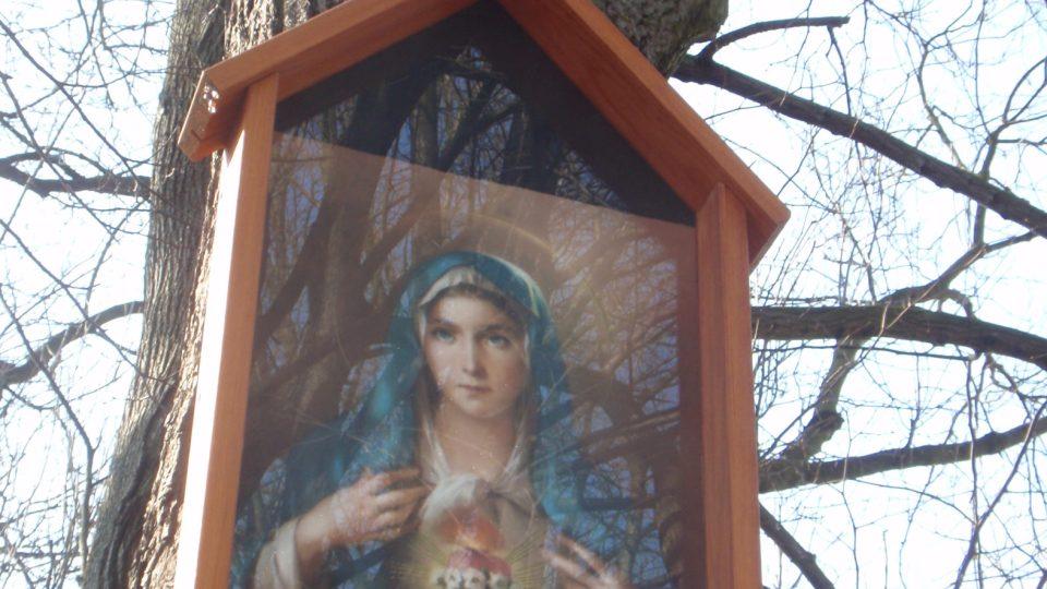Mariánský obrázek, Proskovice