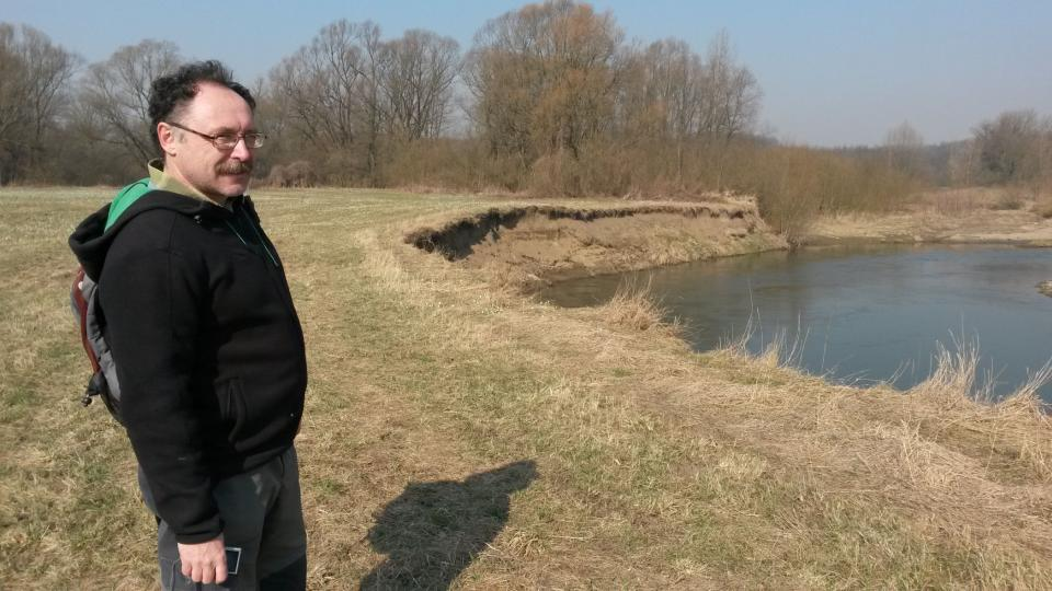 Radim Jarošek z Agentury ochrany přírody a krajiny ČR