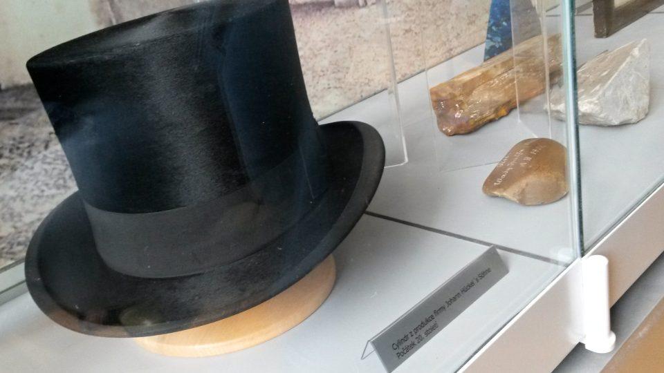 Hückelův cylindr v novojičínském muzeu