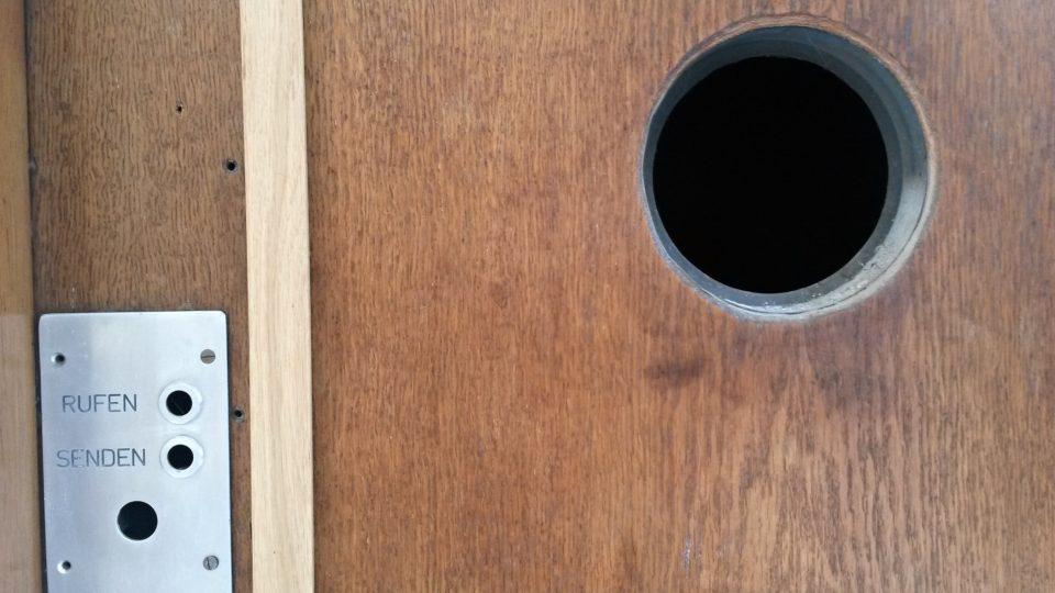 Detail výtahu