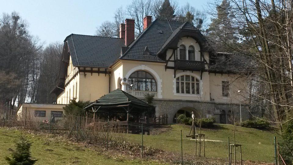 Jedna z Hückelových vil v Novém Jičíně