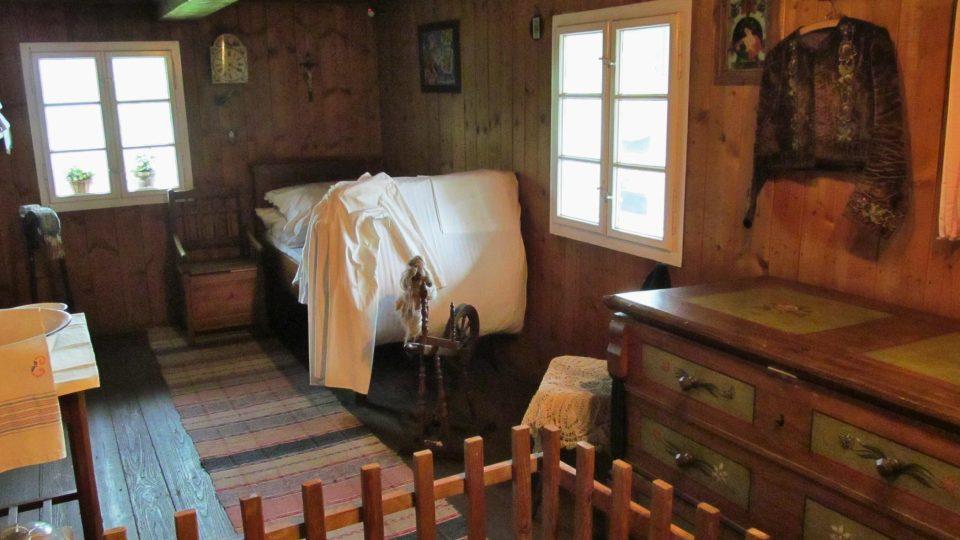 Expozice v 1. patře - domácnost lesníka