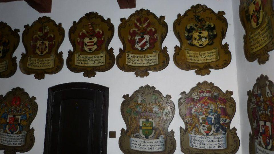 Galerie erbů Komturů