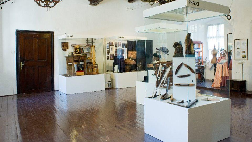 Starý palác - expozice Řemeslo má zlaté dno