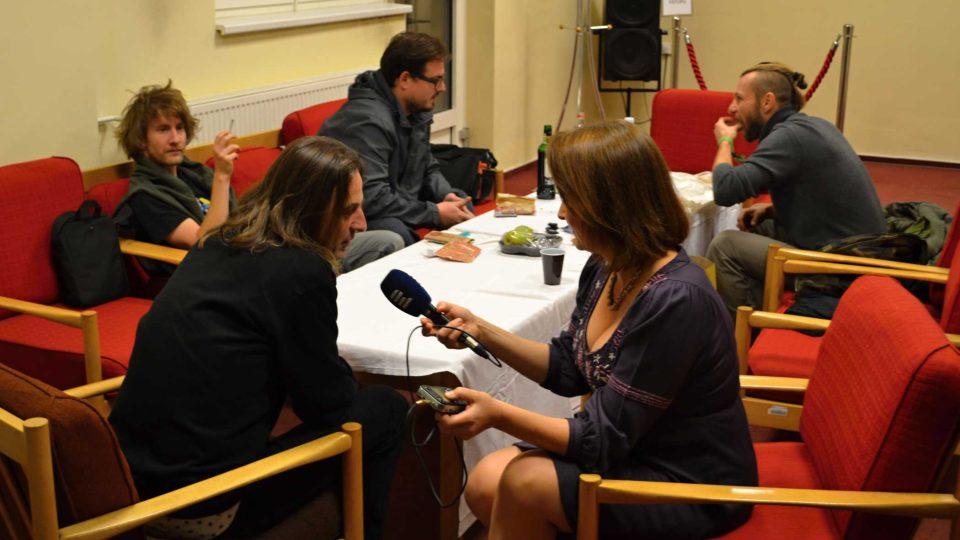Natáčení rozhovorů pro magazín eRko