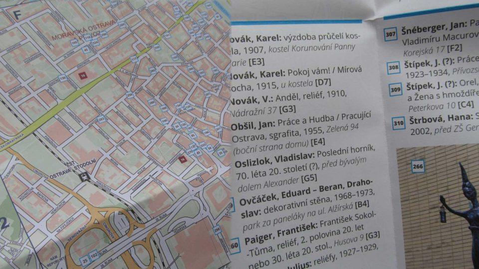 Pohled do mapy z jedné i z druhé strany