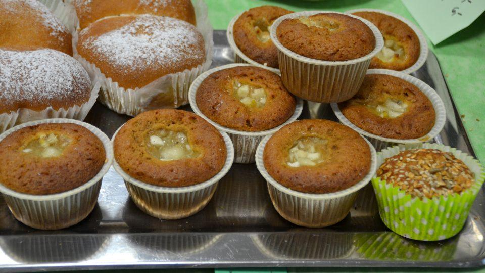 Muffiny ze špaldové mouky