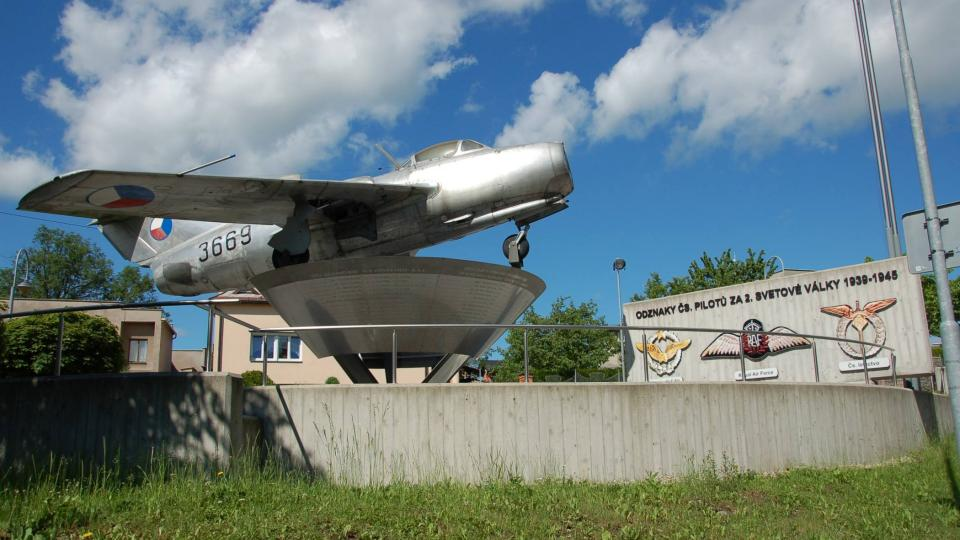 Památník československých letců v Příboře