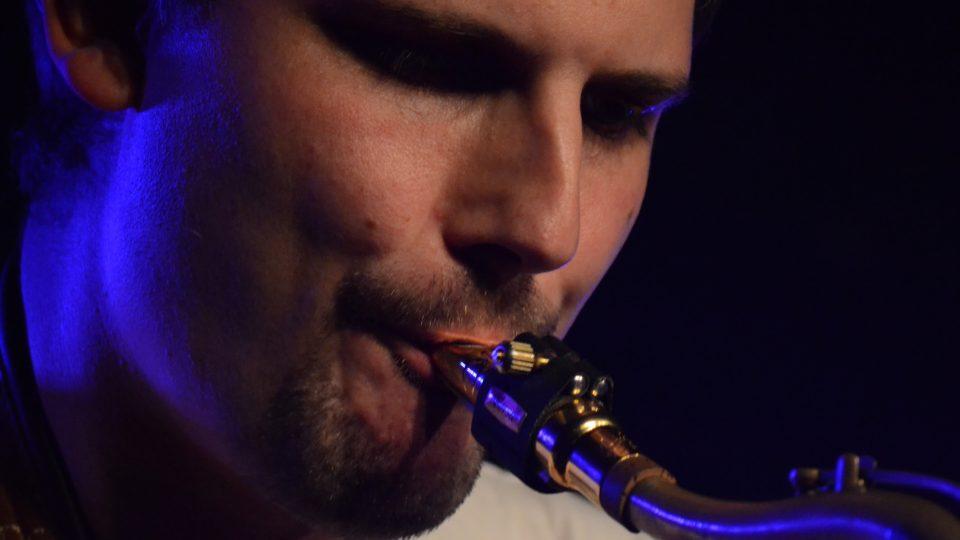 Saxofonista Kamil Janský
