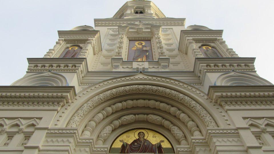 Kostel je vysoký 40 metrů