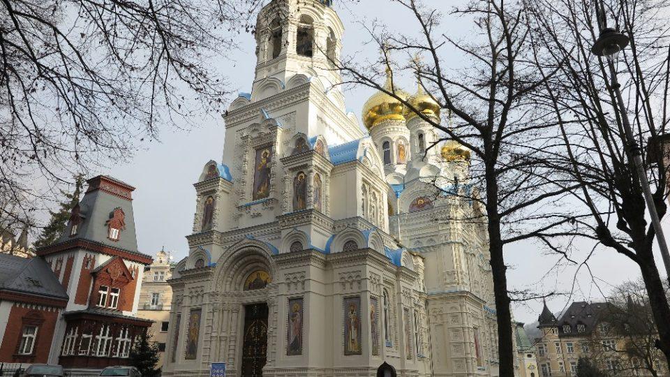 Pravoslavný chrám svatého Petra a Pavla v Karlových Varech