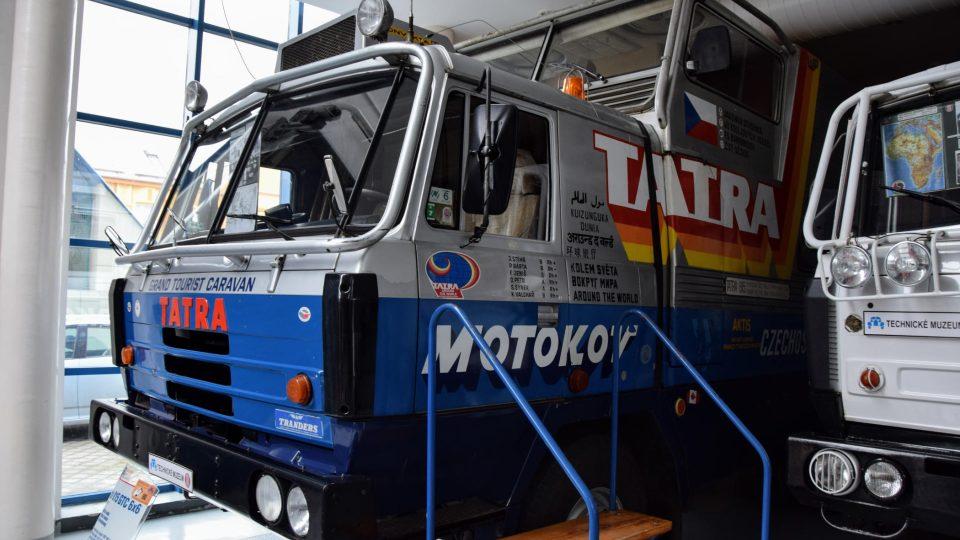 Tatra kolem světa v kopřivnickém technickém muzeu