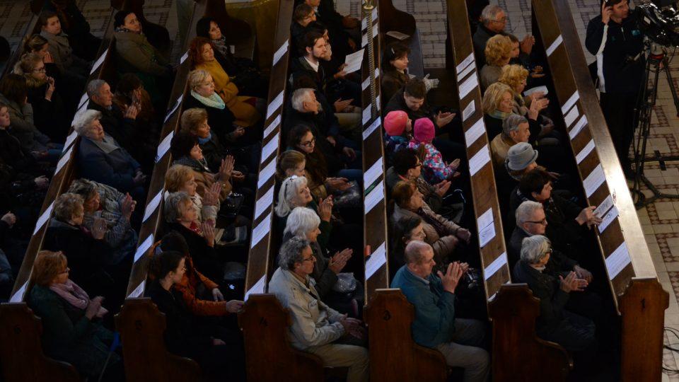 Na mimořádném velikonočním koncertě Hudba pravdy