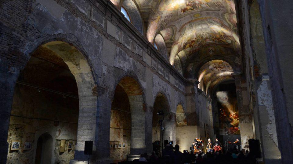 Koncert se odehrál v kostele sv. Václava