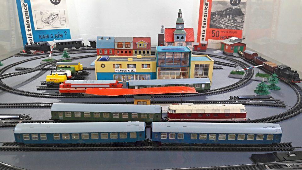 Své zastoupení na výstavě mají i železniční modely