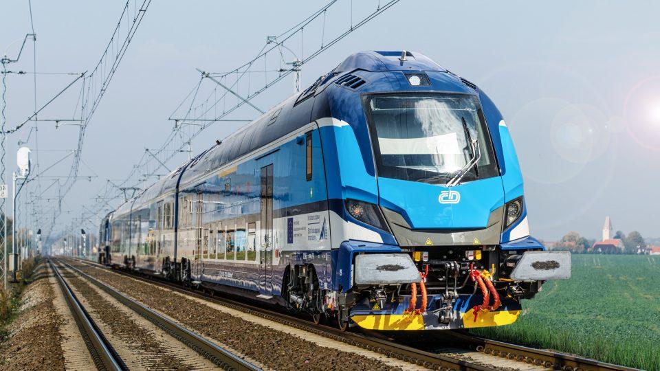 Nová souprava Push-Pull Škoda Transportation
