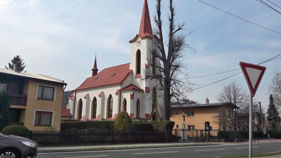 Kostel Neposkvrněného Početí Panny Marie v Pržně