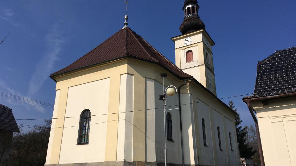 Evangelický kostel v Hodslavicích na Novojičínsku
