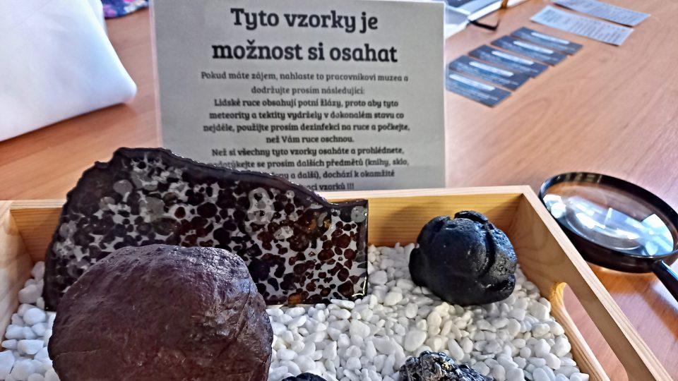Tyto kameny si můžete i osahat