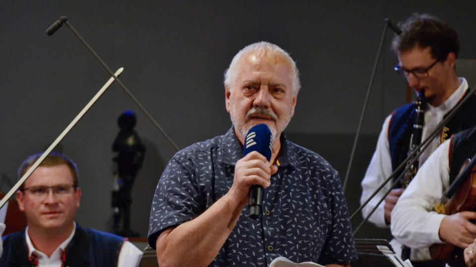 Vzácným hostem večera byl Jan Maděrič