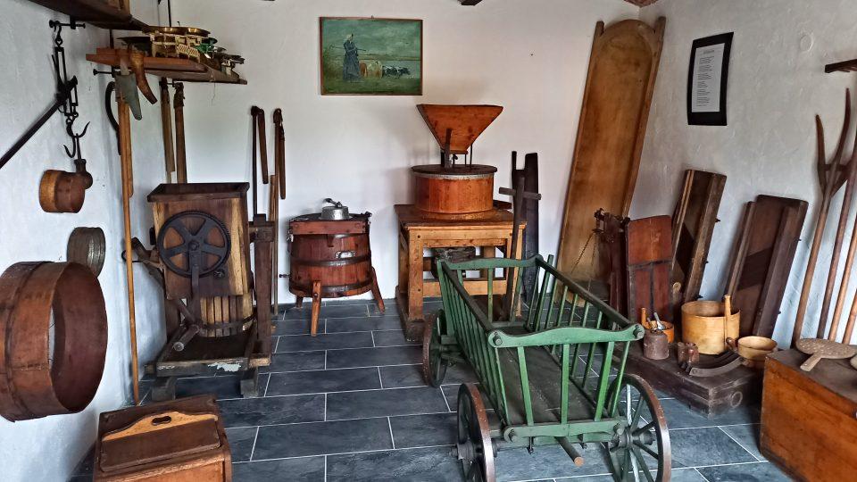 Muzeum je v historickém baráku maštalí
