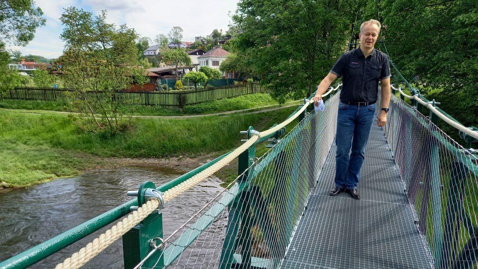 Místostarosta Hradce nad Moravicí Petr Havrlant (SNK), který za projektem stojí
