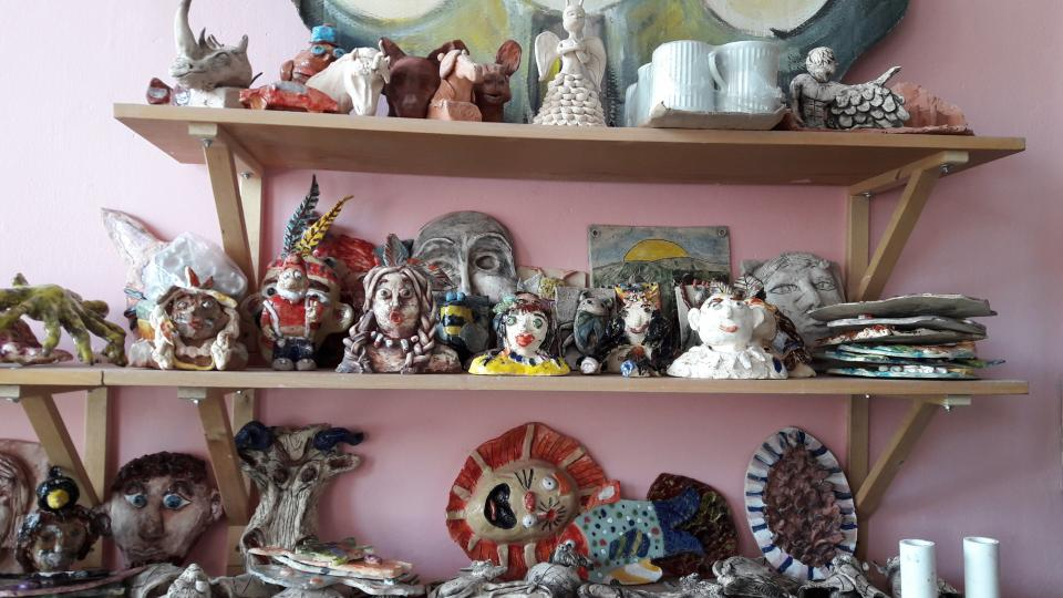Keramika dětí ZUŠ v Ostravě-Zábřehu