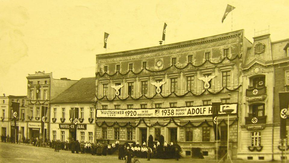 Říjen 1938 v Hlučíně
