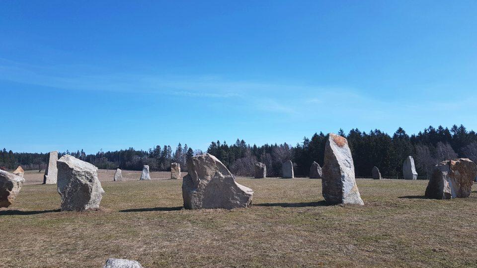 Kamenný kruh druidů