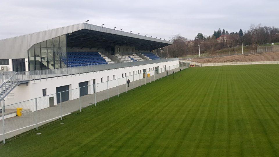 Fotbalový stadion Bazaly po rekonstrukci