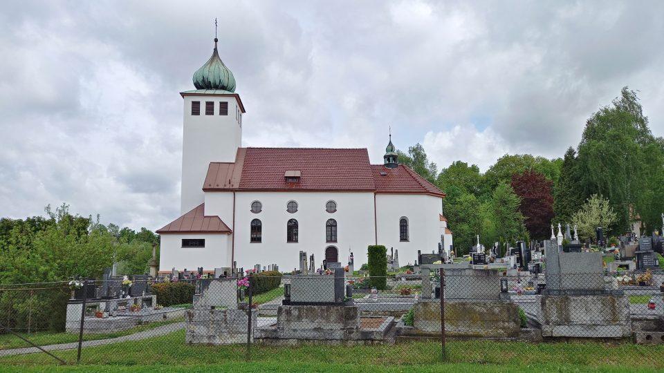 Kostel sv. Kateřiny v Kateřinicích