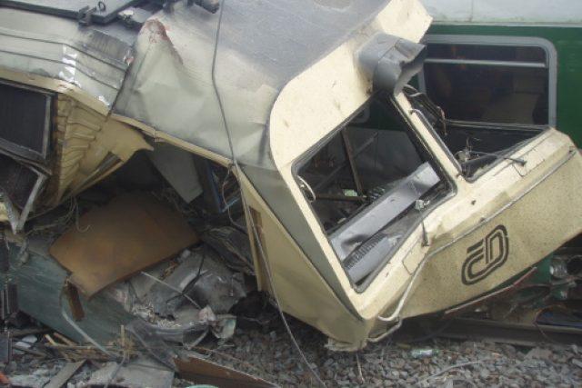 Tragická nehoda vlaku u Studénky