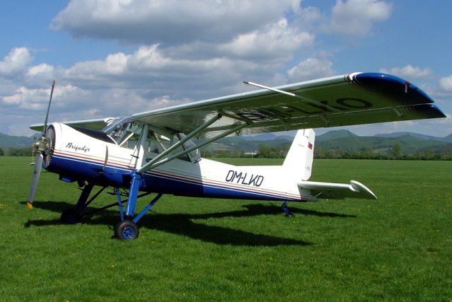 Letadlo L60 Brigadýr