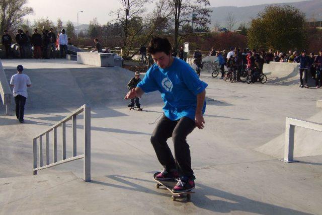 Otevření berounského skateparku