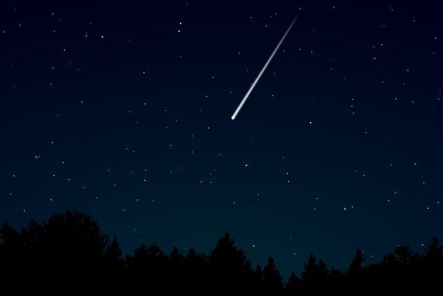 Padající hvězda,  meteorit  (ilustr. foto) | foto: Fotobanka Pixabay