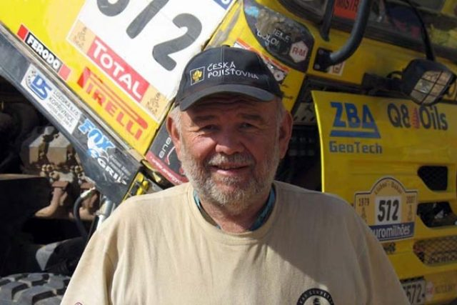 Karel Loprais na Dakaru 2011 | foto: Jan Říha,  Český rozhlas