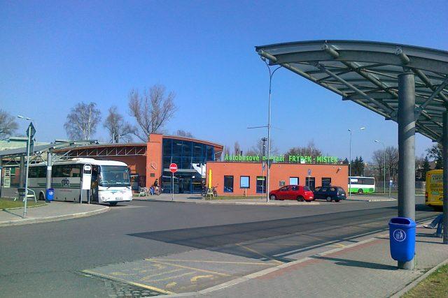 Autobusové nádraží ve Frýdku-Místku
